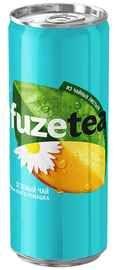 Чайный напиток «Fuzetea Манго-ромашка» в жестяной банке