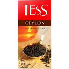 Чай пакетированный «ТЕСС цейлон черный» 25 пакетиков