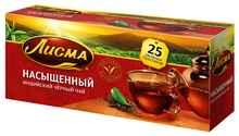 Чай пакетированный «Лисма насыщенный индийский черный» 25 пакетиков