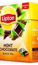 Чай пакетированный «Lipton Mint Chocolate» 20 пирамидок