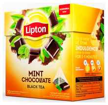 Чай пакетированный «Lipton Mint Chocolate» 20 пирамидок