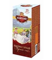 Чай пакетированный «Майский высокогорный» 25 пакетиков