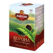 Чай пакетированный «Майский цейлонский черный Корона Российской империи» 100 пакетиков
