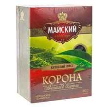 Чай листовой «Майский цейлонский черный Корона Российской империи» 200 гр.