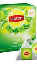 Чай пакетированный «Lipton Citrus Mojito» 20 пирамидок