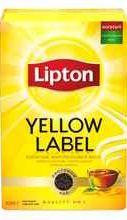 Чай листовой «Lipton Yellow Label черный листовой» 100 гр.