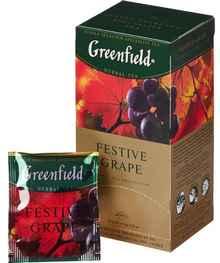 Чай пакетированный «Гринфилд Фестайв греп» 25 пакетиков