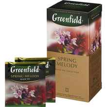 Чай пакетированный «Гринфилд Спринг мелоди» 25 пакетиков