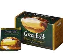 Чай пакетированный «Гринфилд Классик» 25 пакетиков