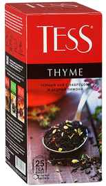 Чай пакетированный «ТЕСС тайм» 25 пакетиков