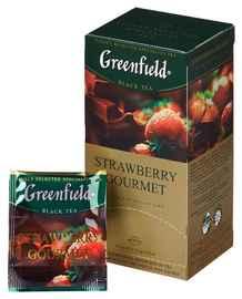 Чай пакетированный «Гринфилд Строуберри Гурме» 25 пакетиков