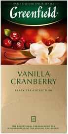 Чай пакетированный «Гринфилд Ванилла гренберри» 25 пакетиков