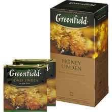 Чай пакетированный «Гринфилд с мёдом» 25 пакетиков