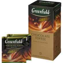 Чай пакетированный «Гринфилд Чоколейт тоффи» 25 пакетиков
