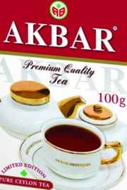 Чай листовой «Акбар Limited Edition» 100 гр.