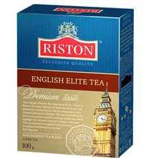 Чай листовой «Riston элитный английский черный листовой» 100 гр.