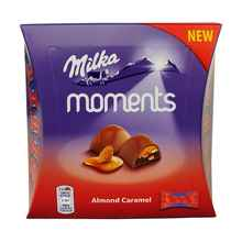 Конфеты «Milka Moments Almond Caramel» 95 гр.