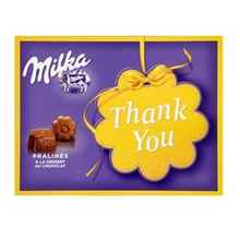 Конфеты «Milka Thank you» 110 гр.