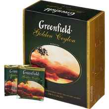 Чай пакетированный «Гринфилд Голден цейлон» 100 пакетиков