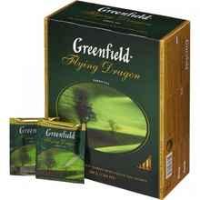 Чай пакетированный «Гринфилд Флаин драгон зеленый» 100 пакетиков