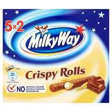 Шоколадные палочки «Milky Way Crispy Rolls» 150 гр.