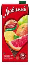 Сок «Любимый Грейпфрут Лимон Лайм»