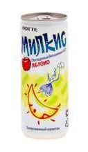 Газированный напиток «Милкис Яблоко» 250 мл.
