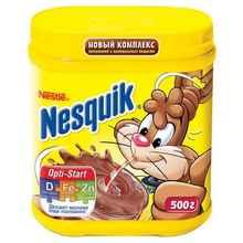 Какао «Несквик + витамины» 500 гр.