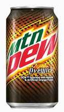 Газированный напиток «Mountain Dew Live Wire» в жестяной банке