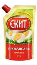 Майонез «СКИТ провансаль» 225 гр.