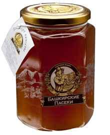 Мёд «Башкирские пасеки Сотка цветочный» 250 гр.