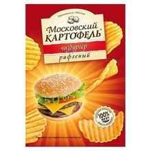 Снеки «Московская картошка чизбургер » 70 гр.