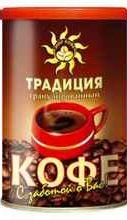Кофе растворимый «МПК традиция вкуса ж/б » 95 гр.