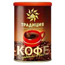Кофе растворимый «МПК традиция вкуса ж/б» 95 гр.