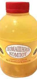Сок «Компот Домашний Абрикосовый» 0,5 л.