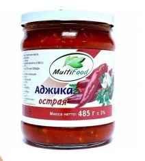 Овощные консервы «Мультифуд аджика» 485 гр.