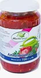 Овощные консервы «Мультифуд аппетитка» 720 гр.