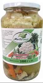 Овощные консервы «Мультифуд бутень маринованные» 1000 гр.