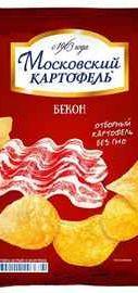 Чипсы «Московский картофель бекон» 70 гр.