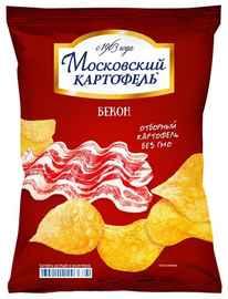 Снеки «Маковский картошка бекон » 70 гр.