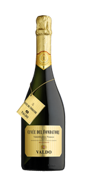 Вино игристое белое брют «Cuvee del Fondatore Brut Prosecco Valdo DOCG» в подарочной упаковке