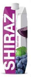 Вино столовое красное полусладкое  «Shiraz (Tetra Pak)»