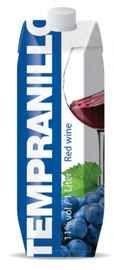 Вино столовое красное полусладкое «Tempranillo (Tetra Pak)»