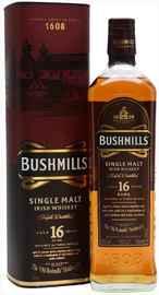 Виски ирландский «Bushmills 16 Years Old» в подарочной упаковке