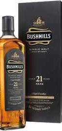 Виски ирландский «Bushmills 21 Years Old» в подарочной упаковке