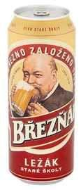 Пиво «Brezhnak Lezak» в железной банке