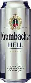 Пиво «Krombacher Hell» в жестяной банке
