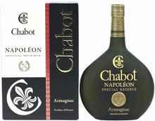 Арманьяк французский «Chabot Napoleon Special Reserve» в подарочной упаковке