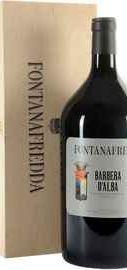 Вино красное сухое «Fontanafredda Barbera d'Alba» 2013 г., в подарочной упаковке
