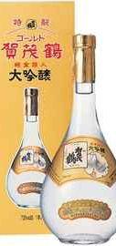 Саке «Kamotsuru Gold» в подарочной упаковке